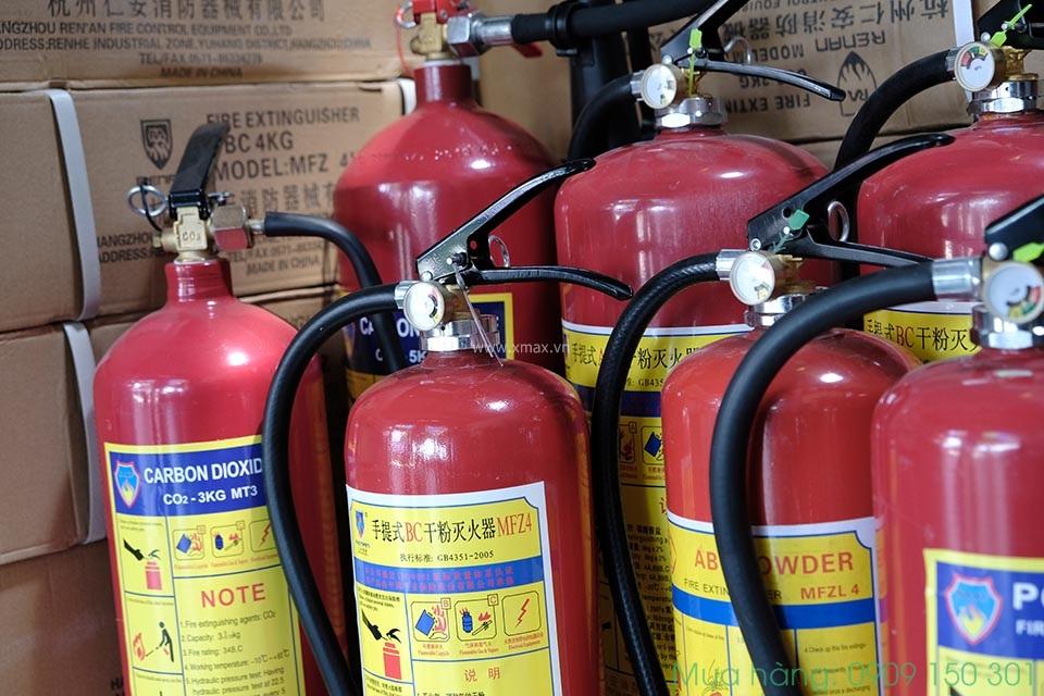Báo giá nạp sạc bình chữa cháy bột co2